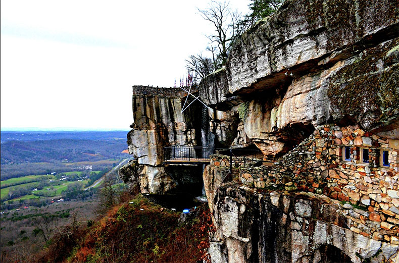 Lookout Mountain near Chattanooga, Tennessee